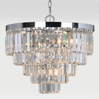 Zodiac 4-light Chrome Chandelier