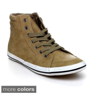 Arider AR5011 Men's High Top Lace Up Sneakers