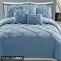 Demi 6-piece Polyester Pintuck Comforter Set