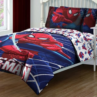 Spiderman Ultimate Webs 4-peice Bed in a Bag
