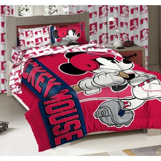 Angels MLB Mickey Mouse 3-piece Bed in a Bag Set