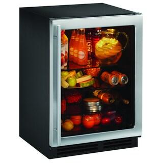 24-inch 2175RCG U-line Glass Door Refrigerator