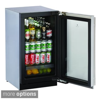 U-line 18-inch Glass Door Refrigerator