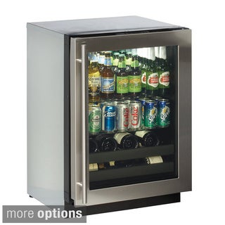 U-Line 24-inch Beverage Center Refrigerator