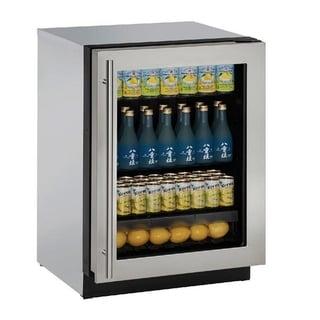 U-Line 24-inch Stainless Steel Refrigerator