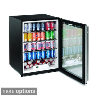 U-Line 24-inch Lockable Glass Door ADA Refrigerator
