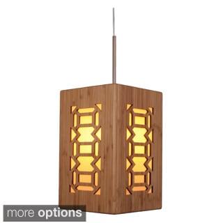 Lighthouse 1-light Bamboo Pendant