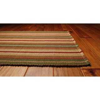 Bethel Cotton Stripe Area Rug (8' x 10')