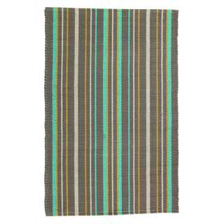 Chesterton Cotton Stripe Rag Area Rug (6' x 9')