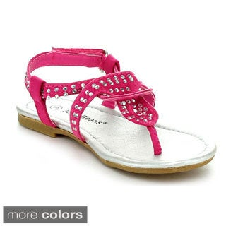 Jelly Beans SIRAYA Toddler's Girls Cut Out Strappy Sandals
