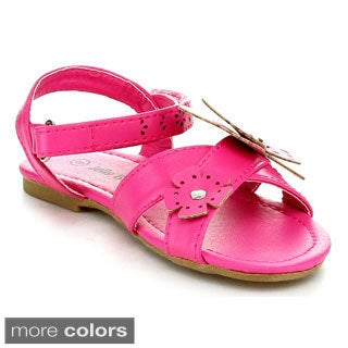 Jelly Beans KIROYA Toddler's Girls Ankle Strap Sandals