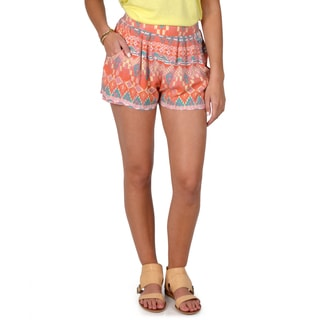 Hailey Jeans Co. Junior's Pocketed Casual Shorts
