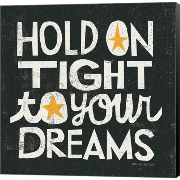 Michael Mullan 'Hold on Tight' Canvas Art