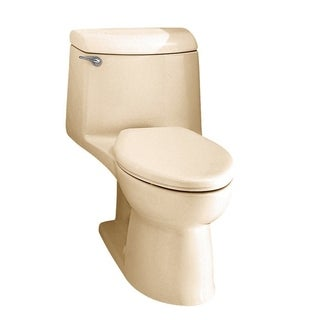 Champion 4 1-piece 1.6 GPF Bone Elongated Toilet