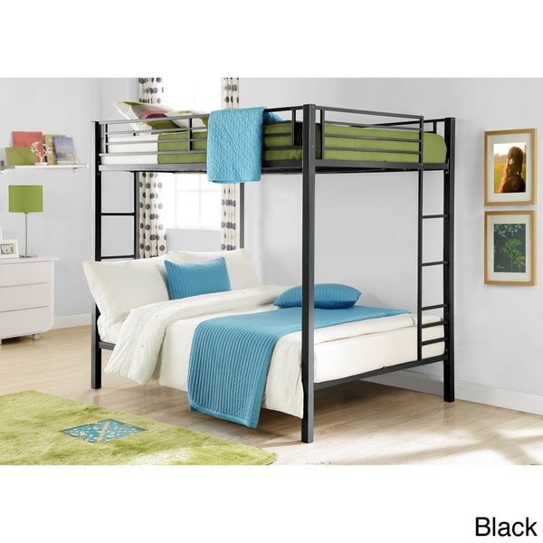 DHP Full over Full Metal Bunk Bed Overstock