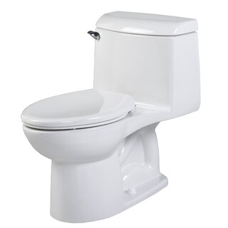 Champion 4 1-piece 1.6 GPF White Elongated Toilet