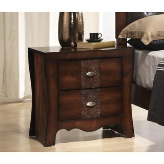 Juliana 2-drawer Medium Espresso Nightstand