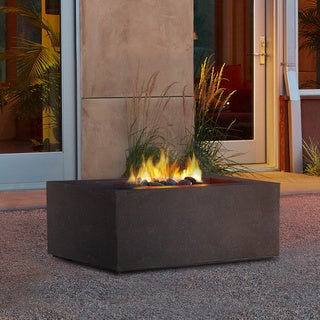 Real Flame Baltic Square NG Kodia Brown Fire Table
