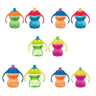 Munchkin Click Lock 7-ounce Trainer Cup (Pack of 2)