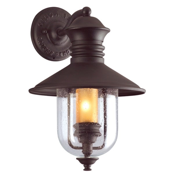 Troy Lighting Old Town 1-light Exterior Wall Lantern