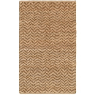LNR Home Natural Fiber Brown Braided Area Rug (9'2 x 12'6)