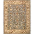 Hand-knotted Ziegler Grey Beige Vegetable Dyes Wool Rug (8' x 10')