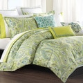 Echo Serena 300 Thread Count Cotton 3-piece Duvet Cover Set