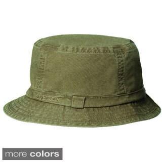 Stetson Men's Organic Cotton Bucket Hat