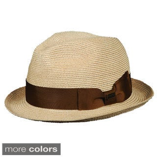 Christys' of London Women's Hemp Braid Fedora