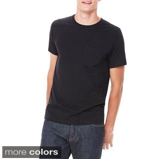 Canvas Men's Short Sleeve Pocket T-shirt