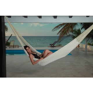 Savannah Large Ecru Mayan Hammock (Mexico)