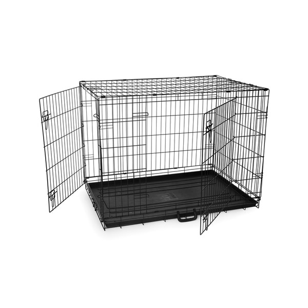 Prevue Pet Products E434DD Home On-The-Go Large Double Door Dog Crate
