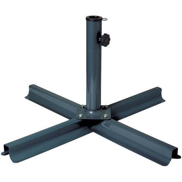 Corliving Grey Patio Umbrella Stand 16328734 Overstock