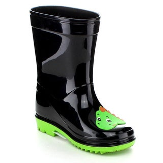 Jelly Beans DINOYA Toddler's Girls Jelly Multil Color Calf Wrap Rain Boots