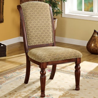 Furniture of America Oscar Fabric Dining Chair (Set of 2)