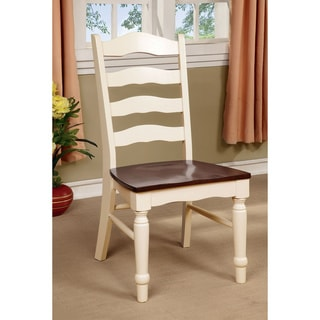 Furniture of America Palister Country Style Side Chair (Set of 2)