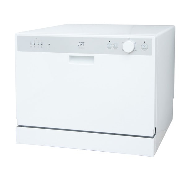 Countertop Dishwasher : SPT SD-2202W White Countertop Dishwasher with Delay Start - Overstock ...