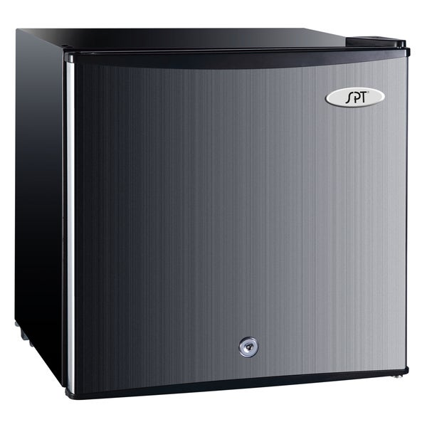 SPT Energy Star 1.1 Cubic Foot Stainless Steel Upright Freezer