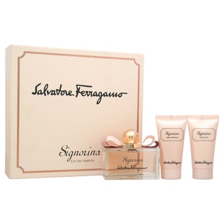 Salvatore Ferragamo Signorina Women's 3-Piece Gift Set