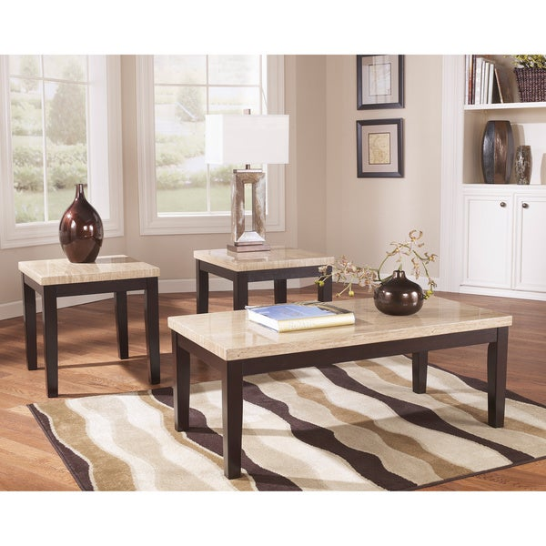 Ashley Mallacar Piece Coffee Table Set In Black T: Signature Designs By Ashley 'Wilder' 3-piece Occasional