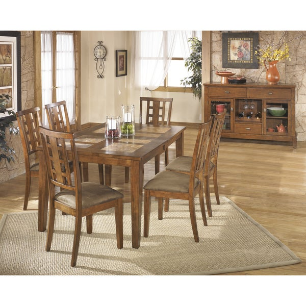 by ashley tucker rectangular tile top dining room extension table