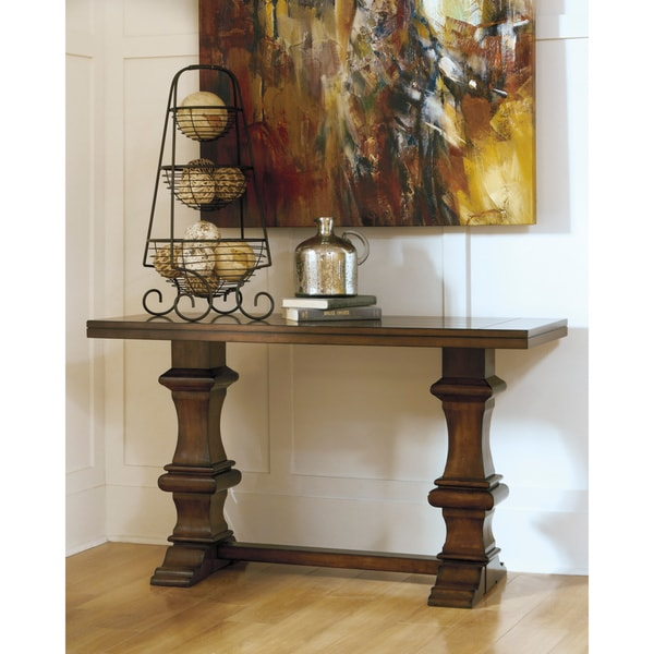 Signature Designs By Ashley Gaylon Sofa Table Overstock Shopping Great Deals On Signature