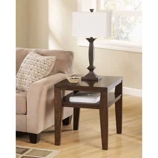 Signature Designs by Ashley Deagan Dark Brown End Table