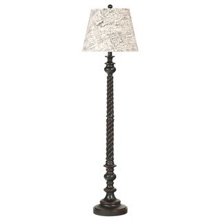 Signature Designs by Ashley Roisin Antique Black Poly Floor Lamp