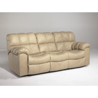 Signature Designs by Ashley Max Chamois Reclining Sofa