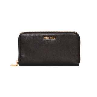 Miu Miu Madras Zip-around Wallet