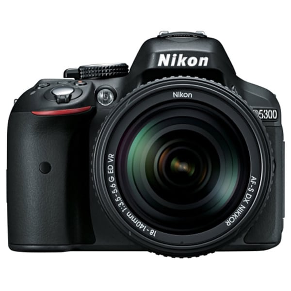 Nikon D5300 24.2MP Digital SLR Camera with 18-55mm Lens