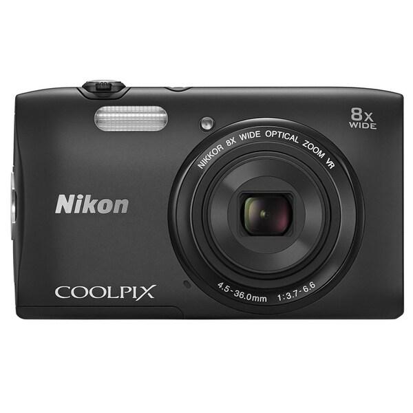 Nikon COOLPIX S3600 20.1MP Black Digital Camera