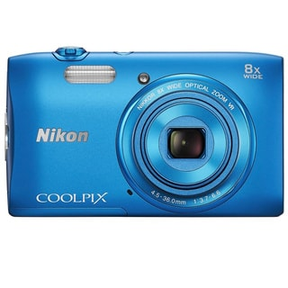 Nikon COOLPIX S3600 20.1MP Blue Digital Camera