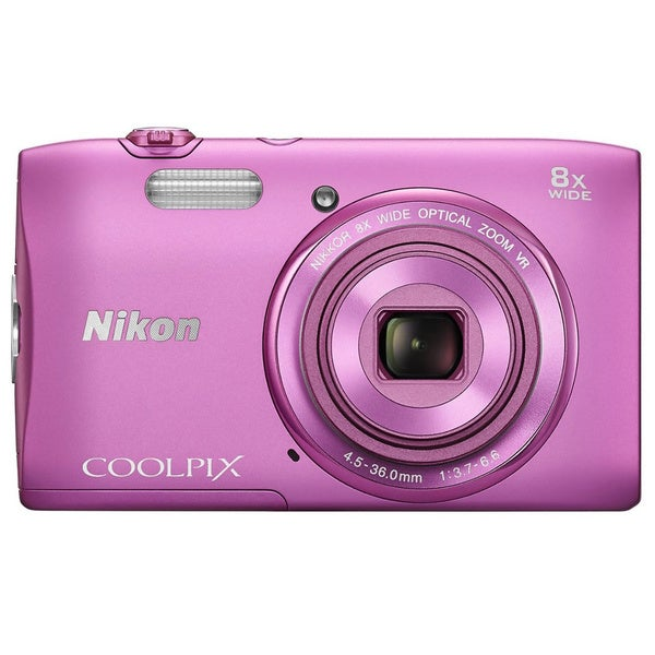 Nikon COOLPIX S3600 20.1MP Pink Digital Camera